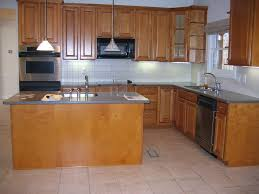 kitchen small l shaped kitchen with island and chairs also with