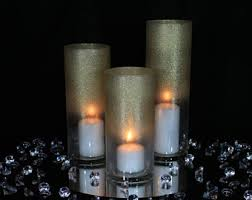 Wedding Candle Holders Centerpieces by Candle Centerpiece Etsy