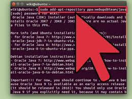 how to install java on ubuntu 7 steps with pictures wikihow