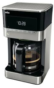 designer kaffeemaschinen de braun kf 7120 kaffeemaschine inkl glaskanne