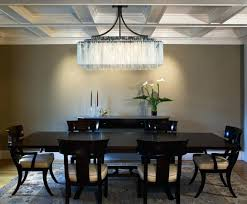 rectangular light fixtures for dining rooms extraordinary pretty chandelier dining rectangle room chandeliers