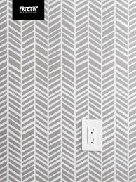 herringbone medium dark grey by friztin wallpaper friztin