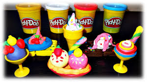 clay for kids video we make from play doh ice cream u0026 waffles
