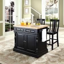 28 black kitchen island with butcher block top wood kitchen