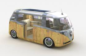 volkswagen minibus electric photos classic vw camper gets tech treatment zdnet