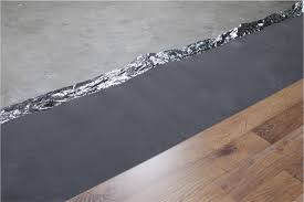 Underlay For Laminate On Concrete Floor How To Install Vapor 3 In 1 Silver Underlayment
