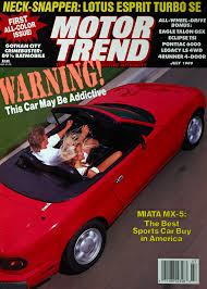 mazda motor of america 1990 mazda mx 5 miata first test motor trend