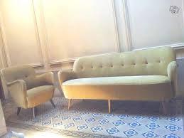 canapé le bon coin 1 canapé ée 50 60 sofa cocktail 1950 beige ameublement