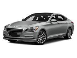 hyundai genesis mileage used 2015 hyundai genesis sedan 4d awd v6 mileage options