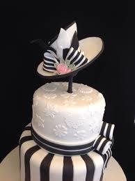 black white u0027my fair lady u0027 birthday cake cakecentral