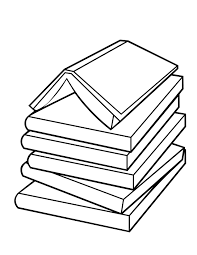 coloring pages related open book coloring book