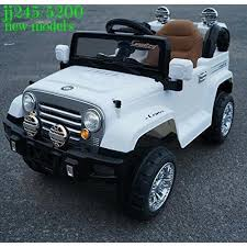 jeep cars white white kids jeep car rs 8500 piece rides babies id 16867423791