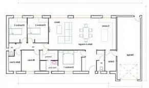 plan maison plain pied gratuit 4 chambres plan de maison gratuit 4 chambres 14 plan architecture plan