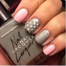 22 easy spring nail designs for short nails short nails grey