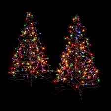 lowes artificial christmas trees with lights shop crab pot trees 3 ft pre lit artificial christmas tree with 150