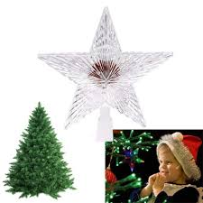 outdoor christmas tree star topper christmas lights decoration