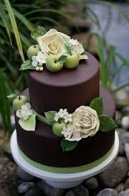 chocolate wedding cake chocolate fondant with gumpaste roses