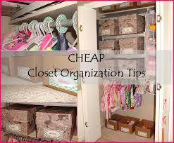 splendid ideas organize closet on a budget contemporary 11 genius