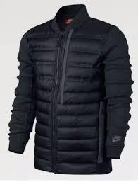 nike tech fleece 800 aeroloft bomber jacket tean red sz 2xl 678267
