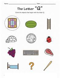 letter q worksheets for kindergarten letter q worksheets for