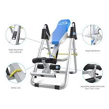 inversion table how to use xph heavy duty inversion therapy table inversion table for back pain