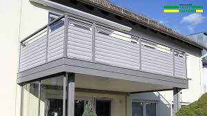 balkone aluminium alubalkon balkongeländer aus aluminium nie wieder streichen