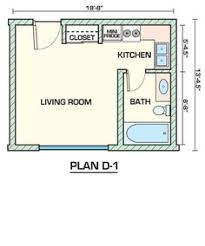 Floor Plan Apartment Design 390 Sq Ft Studio Apt Floor Plan Good For Mom W Alittle