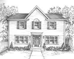 architecture houses drawings interior design