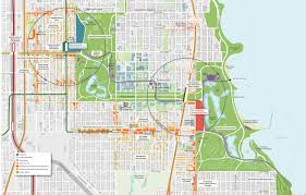 Chicago Attraction Map by Barack Obama Presidential Library Offers Historic Opportunity For