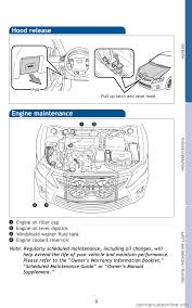 engine toyota camry hybrid 2010 xv40 8 g quick reference guide