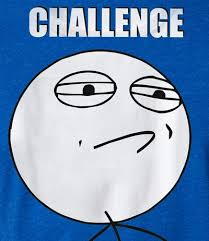 Challenge Accepted Meme - challenge accepted meme rage face t shirt le rage shirts