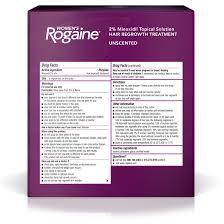 Hair Growth Products At Walmart Rogaine Women U0027s Minoxidil Hair Thinning U0026 Loss Treatment Foam 3