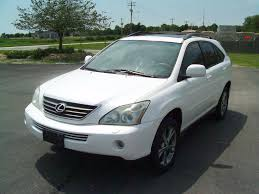 used 2007 lexus rx400h 2006 lexus rx 400h suv for sale in carlock il 9 900 on