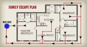 home escape plan wa fire marshall urging all to establish and practice home escape