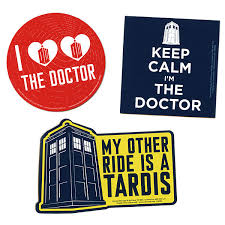 doctor who car magnets thinkgeek
