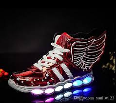 light up sole shoes luminous sneakers usb children shoes with light up sole for kids