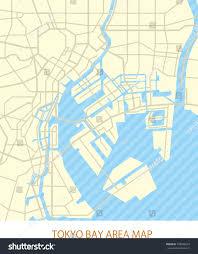 Bay Area Map Tokyo Bay Area Road Map Stock Vector 758586919 Shutterstock
