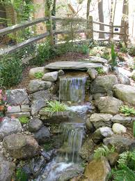 Small Backyard Pond Ideas by Ponds And Waterfalls Pondless Waterfalls Pond U0026 Waterfall