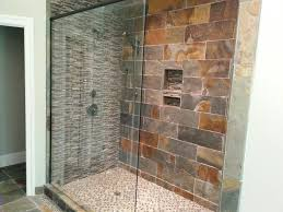 inspiring natural stone bathroom shower design ideas decorating