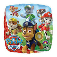 paw patrol party plates party decor rentals kiddie