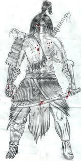 samurai sketch by flaviudraghis on deviantart