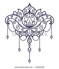 Thai Flower Tattoo Designs Tattoo Designs Stock Images Royalty Free Images U0026 Vectors
