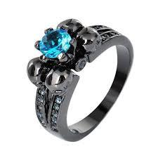 skull engagement rings skulls engagement wedding ring