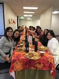 thanksgiving potluck 2017 american trading international office