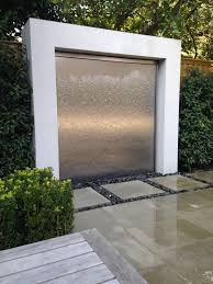 garden fountain awesome cascading water wall diy water wall kit garden fountain cascading water wall homemade wall fountain lamp orange grass house stone brown wood