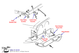 keen corvette 1953 2017 corvette rear bumper parts parts accessories for