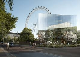 Glass Pavilion London Eye Designer Marks Barfield Plans Glass Pavilion Next Door