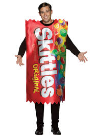 cheap costumes for adults skittles wear the rainbow awesome