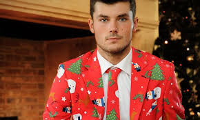 christmas suit trending the christmas suit is the ugliest thing you could inflict