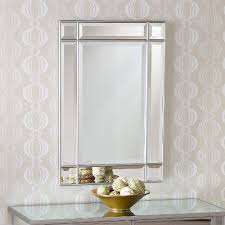 Beveled Mirrors For Bathroom Bathrooms Design Wall Mounted Mirror Unframed Mirrors In No Frame